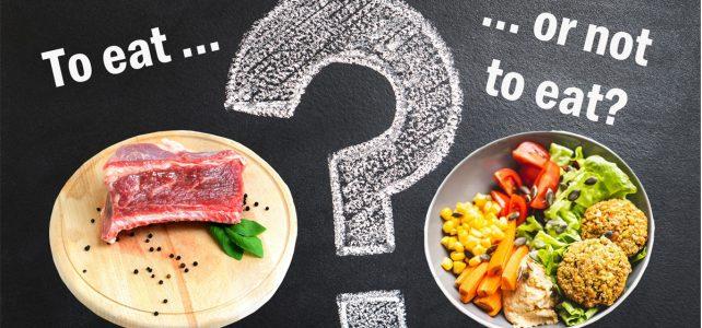 Да бъдеш или да не бъдеш… вегетарианец