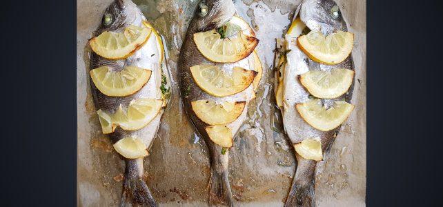 Ципура с лимонова мащерка на фурна