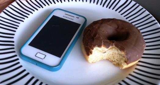 Нарушихте си диетата? Разбийте си телефона!